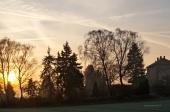 Sonnenaufgang über der alten Zeche