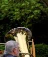 Tuba im Wald, Himmelfahrtsgottesdienst