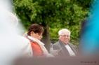 Gemeinde im Himmelfahrtsgottesdienst