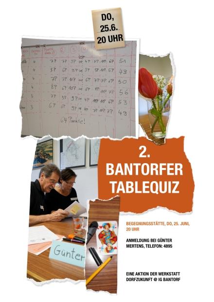 2. Bantorfer Tablequiz