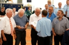 Kaum sind die Mitglieder 40, 50 Jahre dabei, schon freuen sich alle von Herzen über einen persönlichen Kupfer-Handdruck zum Jubiläum