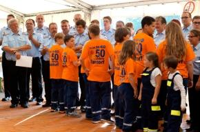 50 (!) Jahre Jugendwehr und inzwischen auch Schlümpfe