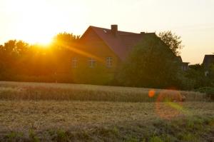 Zum Abschluss ein Sonnenuntergang