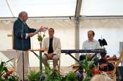 Lorenz Siwek, Torsten Beckmann-Loeks und Albrecht von Blankenburg sind die Männer der Ökumenischen Festandacht am Sonntag (3. Tag Zeltfest)