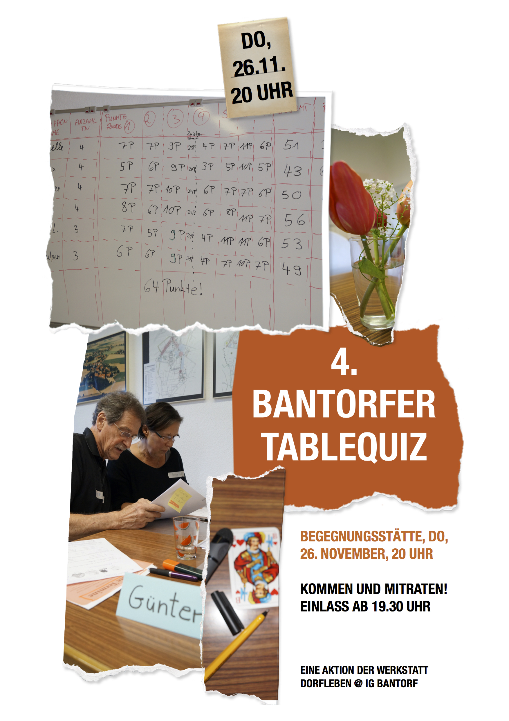 4 table quiz bantorf for Table quiz hannover