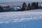 Bantorf im Schnee