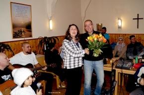 Stella Burgdorf und Pierre Mensching