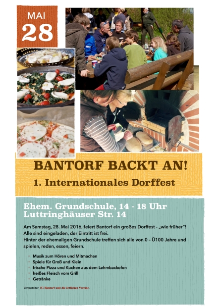Bantorf backt an international 2016