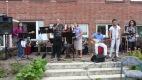 Nachbarn musizieren